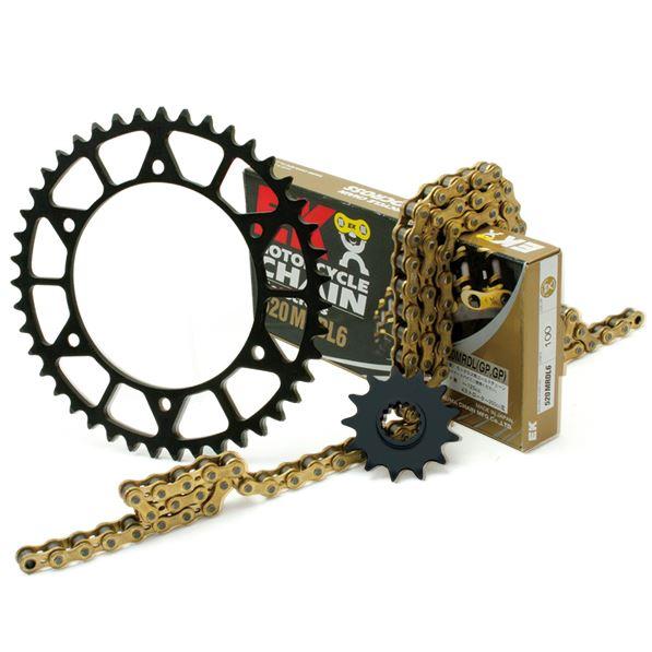 スーパーセール バイク用品 駆動系 リアスプロケットDRC チェーン・スプロケットキット WR250X 07-12ディーアールシー DE60-142 取寄品