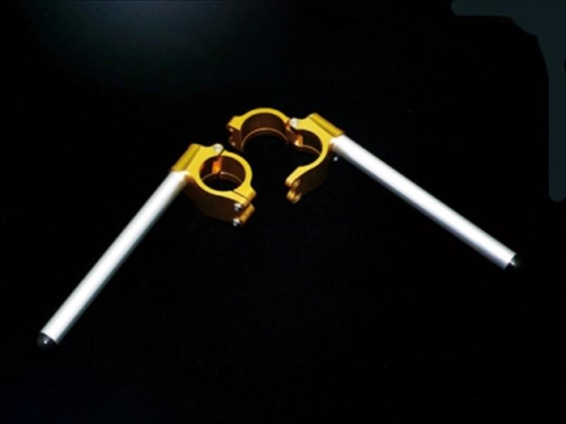 バイク用品 ハンドル ハンドルサンセイレーシング エンデュランスステアリングキット アルミ ゴールド φ52-5°SANSEIRACING 0-35-5182 取寄品 セール