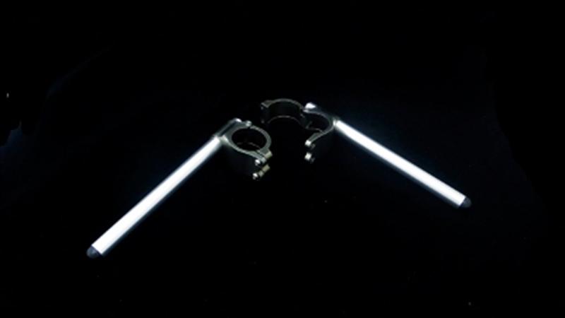 バイク用品 ハンドル ハンドルサンセイレーシング エンデュランスステアリングキット アルミ チタンSLV φ52-5°SANSEIRACING 0-35-5184 取寄品 セール