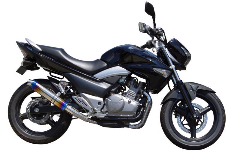 セール バイク用品 マフラー 4ストフルエキゾーストマフラーサンセイレーシング ステンレス スリップオン サイレンサーJMCA GSR250(JBK-GJ55D)SANSEIRACING 0-22-ZSS3210J 取寄品