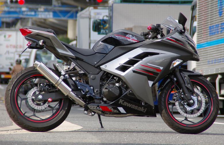 セール バイク用品 マフラー 4ストフルエキゾーストマフラーサンセイレーシング ステンレスサイレンサーJMCA Ninja250 13- ABS Z250SANSEIRACING 0-22-ZSS4214J 取寄品