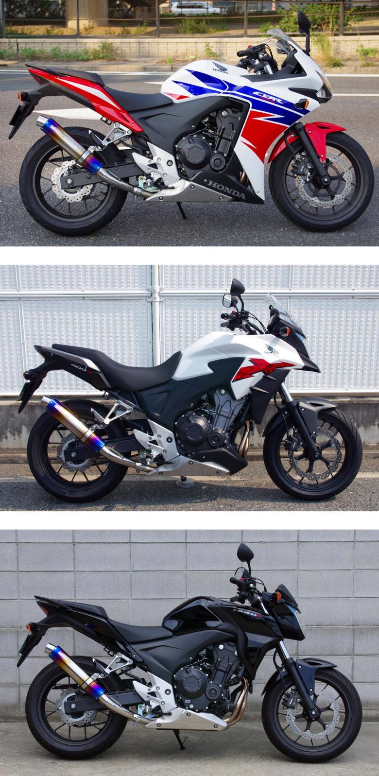バイク用品 マフラー 4ストフルエキゾーストマフラーサンセイレーシング ステンレスサイレンサーJMCA CBR400R CB400F XSANSEIRACING 0-22-ZSS1420J 取寄品 セール