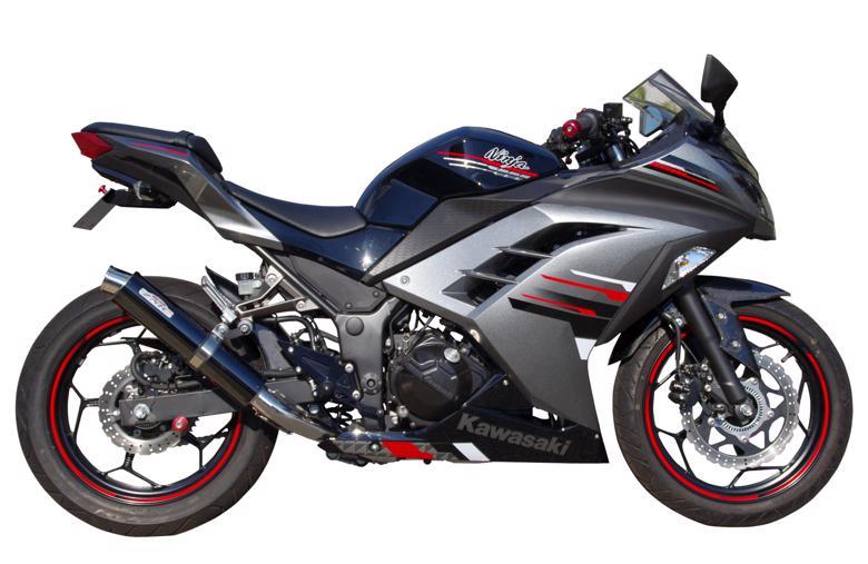 スーパーセール バイク用品 マフラー 4ストフルエキゾーストマフラーサンセイレーシング SANSEI ZNICスリップオン JMCA Ninja250 Z250 ABSSANSEIRACING 0-22-ZSB4214J 取寄品
