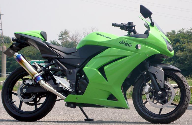 バイク用品 マフラー 4ストフルエキゾーストマフラーサンセイレーシング SANSEI ZNICスリップオン JMCA Ninja250RSANSEIRACING 0-22-ZSB4213J 取寄品 スーパーセール