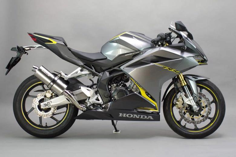 スーパーセール バイク用品 マフラー 4ストスリップオン&ボルトオンマフラーサンセイレーシング ZNICリアエキゾースト チタンオーバル CBR250RR 17 (MC51)SANSEIRACING 0-22-ZSO1261J 取寄品