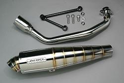 スーパーセール バイク用品 マフラー 4ストフルエキゾーストマフラーアディオ BB-SHOOTマフラー ステンレス マジェスティS S-MAX(JBK-SG28J SG271)ADIO BK11202 取寄品