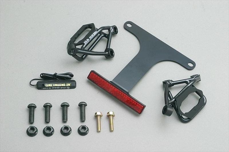 バイク用品 外装 フェンダーアディオ フェンダーレスキット スリムリフレクター付 Ninja250 400 18-ADIO BK41403 取寄品