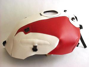 スーパーセール バイク用品 ケース(バッグ) キャリア 車両用ソフトバッグBAGSTER タンクカバー ホワイト レッド CB1000SFバグスター 1244C 取寄品