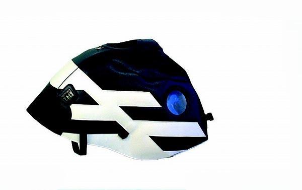 バイク用品 ケース(バッグ) キャリア 車両用ソフトバッグBAGSTER タンクカバー ダークブルー ホワイト R850GS R1100GS R1150GS 94-04バグスター 1272H 取寄品