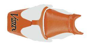 バイク用品 外装 シートBAGSTER シートカバー RED SLV SV V-MAXバグスター 2073D 取寄品