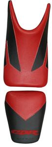 バイク用品 外装 シートBAGSTER シートカバー RED BLK CBR125バグスター 2159A 取寄品