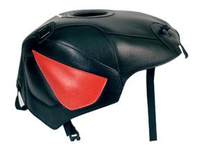スーパーセール バイク用品 ケース(バッグ) キャリア 車両用ソフトバッグBAGSTER タンクカバー ブラック レッド CBR900 954RR 02-03バグスター 1437E 取寄品