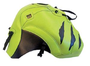 バイク用品 ケース(バッグ) キャリア 車両用ソフトバッグBAGSTER タンクカバー Aグリーン ブラック TIGER900 99-06バグスター 1392E 取寄品