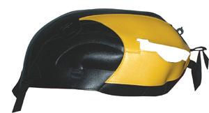 バイク用品 ケース(バッグ) キャリア 車両用ソフトバッグBAGSTER タンクカバー ブラック イエロー T.BIRD SPORT LEGENDバグスター 1362J 取寄品
