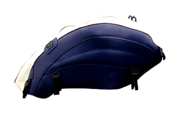 バイク用品 ケース(バッグ) キャリア 車両用ソフトバッグBAGSTER タンクカバー クリーム Dブルー ROCKET III 05-12バグスター 1501E 取寄品