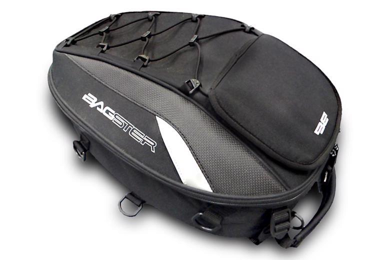 スーパーセール バイク用品 ケース(バッグ) キャリア 車両用ソフトバッグBAGSTER シートバッグ スパイダー ブラック 15-23Lバグスター 4899B1 取寄品