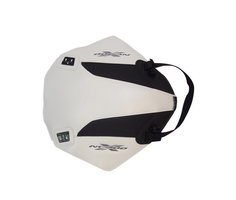 スーパーセール バイク用品 ケース(バッグ) キャリア 車両用ソフトバッグBAGSTER タンクカバー ホワイト ブラック NC700X (12)バグスター 1631B 取寄品
