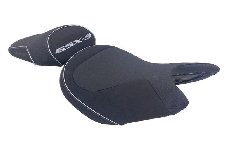 バイク用品 外装 シートBAGSTER レディーシート ブラック シルバー GSX-S1000 1000F 15-19バグスター 5356A 取寄品