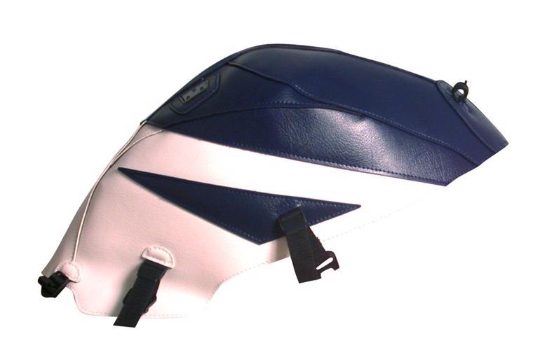 スーパーセール バイク用品 ケース(バッグ) キャリア 車両用ソフトバッグBAGSTER タンクカバー ダークブルー ホワイト SV650 S 05バグスター 1455H 取寄品