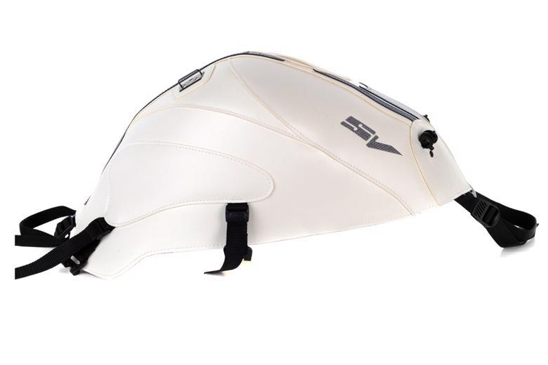 スーパーセール バイク用品 ケース(バッグ) キャリア 車両用ソフトバッグBAGSTER タンクカバー ホワイト ダークブルー SV650 S 14バグスター 1455Q 取寄品