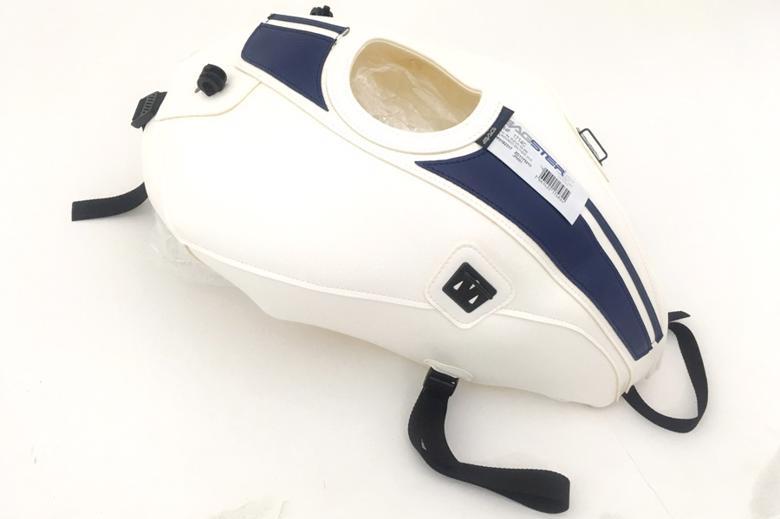 バイク用品 ケース(バッグ) キャリア 車両用ソフトバッグBAGSTER タンクカバー ホワイト ブルーデコ SV650 ABS 16-18バグスター 1714C 取寄品