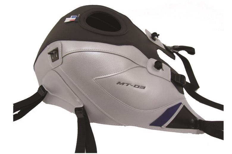 スーパーセール バイク用品 ケース(バッグ) キャリア 車両用ソフトバッグBAGSTER タンクカバー シルバー ブラック ブルー MT-03 16-17バグスター 1722B 取寄品