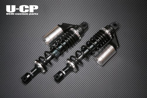 バイク用品 サスペンション&ローダウン リアサスペンションU-CP オリジナルサスペンション BK SV GSX1100Sウチカスタムパーツ UCSUT34BKSVSU9 取寄品 スーパーセール
