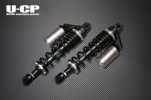 バイク用品 サスペンション&ローダウン リアサスペンションU-CP オリジナルサスペンション BK SV CB900F CB1100Fウチカスタムパーツ UCSUT34BKSVHO17 取寄品 スーパーセール