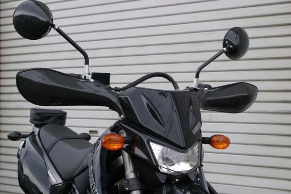スーパーセール バイク用品 ハンドル ハンドルガードA-TECH ナックルガード C サユウ Dトラッカー125(09-)エーテック K46042 取寄品