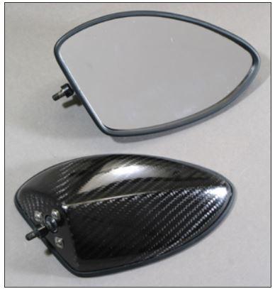 スーパーセール バイク用品 ハンドル ミラーA-TECH FA DRYカーボンミラー T5(M) CBR600RR 07-09エーテック PMT5-M-9 取寄品