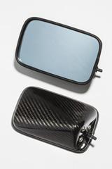 スーパーセール バイク用品 ハンドル ミラーA-TECH FA DRYカーボンミラー T2 ミラーヘッド右エーテック PMT2-2 取寄品