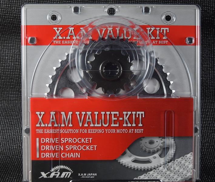 スーパーセール バイク用品 駆動系 その他(駆動系)XAM バリューキット GLD BANDIT600N S 00-04ザム K-6302G 取寄品