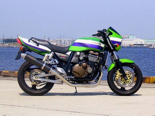 スーパーセール バイク用品 マフラー 4ストフルエキゾーストマフラーテックサーフ ZEEX フルEX 110 カーボン ZRX1200R S 01-08techserfu T21-KC15-0102 取寄品