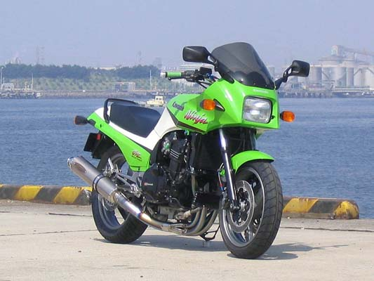 バイク用品 マフラー 4ストフルエキゾーストマフラーテックサーフ テマゲチタンフルEX ソリッドチタン STD GPZ750 900Rtechserfu T20-K006-0202 取寄品 セール