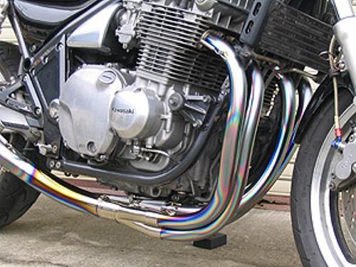 バイク用品 マフラー 4ストフルエキゾーストマフラーテックサーフ オールチタン EXテマゲ ミラー100 C FT GSX750S-3techserfu T20-S016-MFC1 取寄品 セール