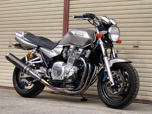 スーパーセール バイク用品 マフラー 4ストフルエキゾーストマフラーテックサーフ オールチタンEXテマゲ 110 C FT XJR1200 1300techserfu T03-Y003-MFC2 取寄品