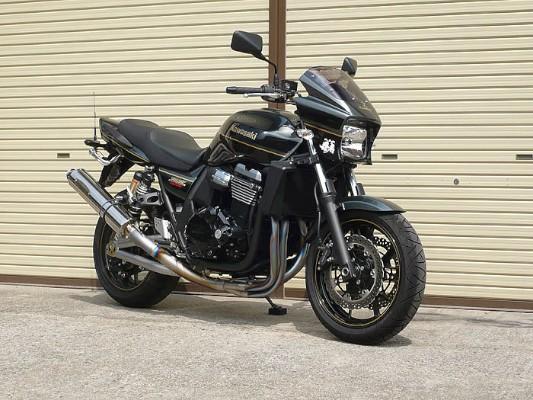バイク用品 マフラー 4ストフルエキゾーストマフラーテックサーフ オールチタンEX TYPE2 C 100X400 ZRX1200 DAEGtechserfu T20-K025-0102 取寄品 スーパーセール