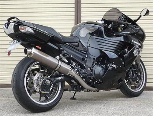 スーパーセール バイク用品 マフラー 4ストスリップオン&ボルトオンマフラーテックサーフ ZEEX S O ワンテール ソリッドチタン ZZ-R1400 ZX-14 06-11techserfu T23-K029-0217 取寄品