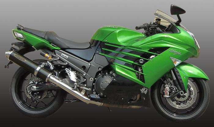 スーパーセール バイク用品 マフラー 4ストスリップオン&ボルトオンマフラーテックサーフ ZEEX S O ワンテール カーボン ZX-14R 12-techserfu T23-K031-0117 取寄品