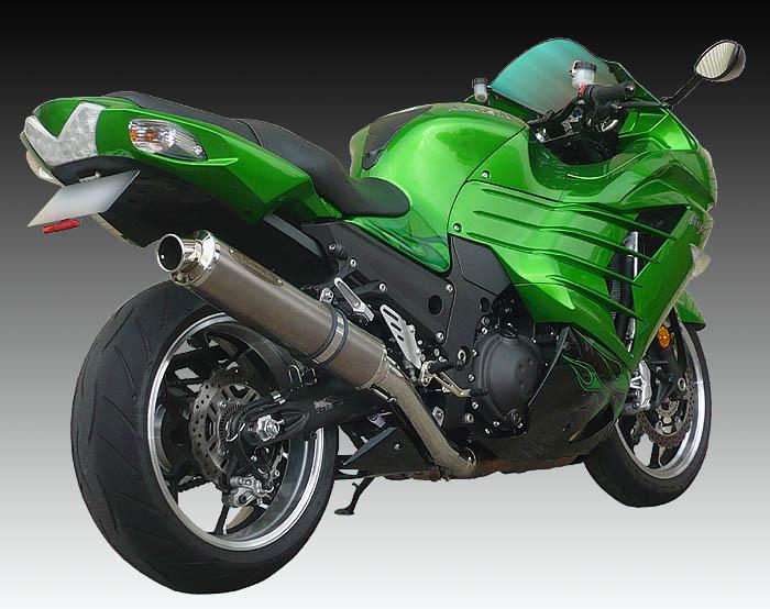 スーパーセール バイク用品 マフラー 4ストスリップオン&ボルトオンマフラーテックサーフ ZEEX S O ワンテール ソリッドチタン ZX-14R 12- φ110X480techserfu T23-K031-0217 取寄品