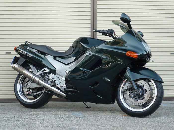 バイク用品 マフラー 4ストフルエキゾーストマフラーテックサーフ ZEEX 4-1 ソリッドチタン 100X450 ZZR1100techserfu T21-K028-0202 取寄品 スーパーセール