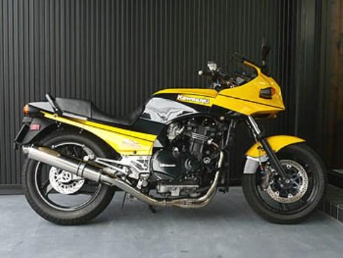 バイク用品 マフラー 4ストフルエキゾーストマフラーテックサーフ ZEEX フルEX ポリッシュチタン STD GPZ900R φ110X480techserfu T21-K032-0402 取寄品 セール