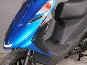 バイク用品 外装 スクリーン旭風防 エ-エフアサヒ アサヒフウボウ AD-02 サイドバイザー アドレスV125 V125G (BC-CF46A)AF-ASAHI AD-02 取寄品 セール