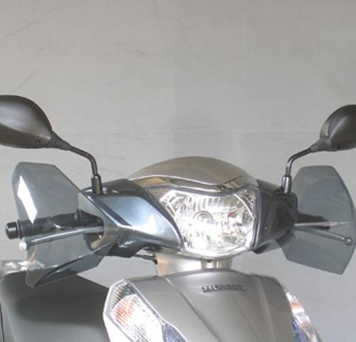 スーパーセール バイク用品 外装 スクリーン旭風防 エ-エフアサヒ アサヒフウボウ LE-11 ナックルバイザー リード125AF-ASAHI LE-11 取寄品