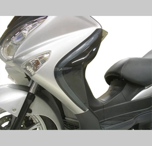 スーパーセール バイク用品 外装 スクリーン旭風防 エ-エフアサヒ アサヒフウボウ サイドバイザー BU-02 バーグマン200 JBK-CH41AAF-ASAHI BU-02 取寄品