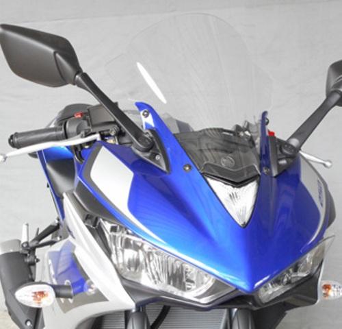 バイク用品 外装 スクリーン旭風防 エ-エフアサヒ アサヒフウボウ スクリーン クリア YZF-R25 R3AF-ASAHI YZ-02 取寄品