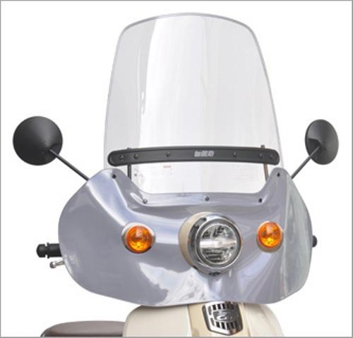 スーパーセール バイク用品 外装 スクリーン旭風防 エ-エフアサヒ アサヒフウボウ ウインドシールド スーパーカブ50 110(2BH-AA09 2BJ-JA44)AF-ASAHI CUB-03 取寄品