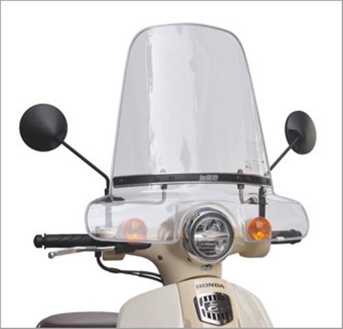 セール バイク用品 外装 スクリーン旭風防 エ-エフアサヒ アサヒフウボウ ウインドシールド スーパーカブ50 110(2BH-AA09 2BJ-JA44)AF-ASAHI CUB-09 取寄品
