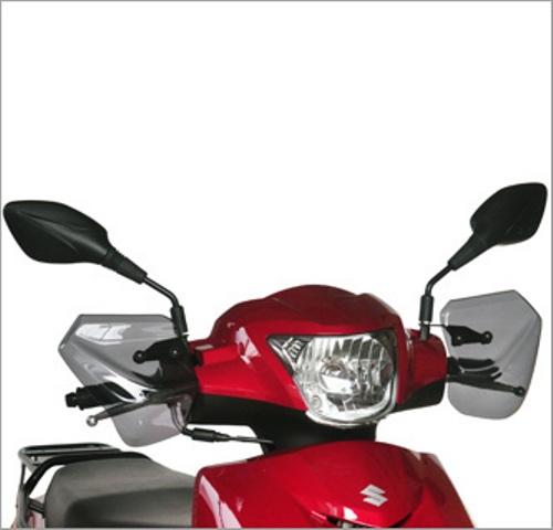 バイク用品 外装 スクリーン旭風防 エ-エフアサヒ アサヒフウボウ 汎用ナックルバイザー アドレス125 2BJ-DT11AAF-ASAHI HN-04 取寄品