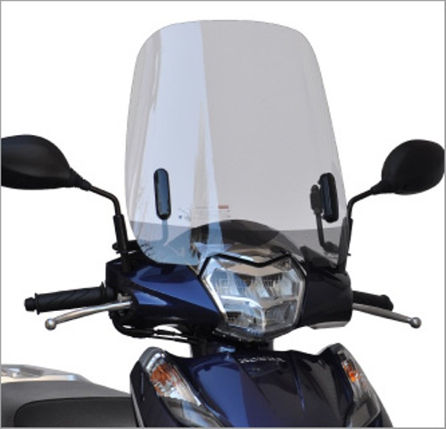 バイクパーツ モーターサイクル オートバイ セール バイク用品 外装 スクリーン旭風防 エ-エフアサヒ アサヒフウボウ LE-23 ウインドシールド LEAD125 2BJ-JF45AF-ASAHI LE-23 取寄品